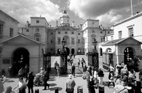 Horse Guards from top deck No 3 bus by Richard Martin