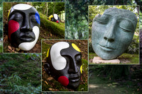 Faces in the Forest by Richard Martin