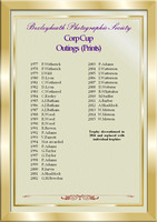 Corp cup Outings Print winners 1977-2015